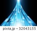 テクノロジー サイバー アブストラクトのイラスト 32043155