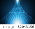 テクノロジー サイバー アブストラクトのイラスト 32043156