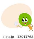 テニス マンガ ベクトルのイラスト 32043768