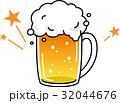 ビール 飲み物 ジョッキのイラスト 32044676
