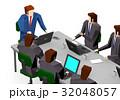 会議 ミーティング ビジネスのイラスト 32048057