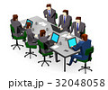 会議 ミーティング ビジネスのイラスト 32048058