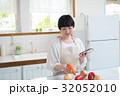 若い主婦 料理 32052010