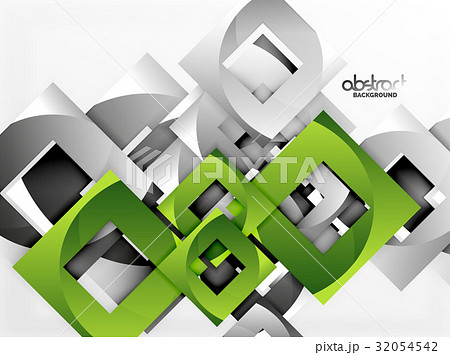 vector square template backgroundのイラスト素材 32054542 pixta