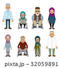 シニアセット ムスリム 32059891
