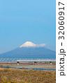 富士山 冬 世界文化遺産の写真 32060917