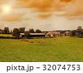 牛 放牧 まきばの写真 32074753