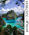 ボート 海岸 沿岸の写真 32079643