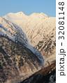 雪山 冬山 残雪の写真 32081148