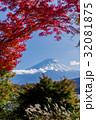 富士山 紅葉シーズン 32081875