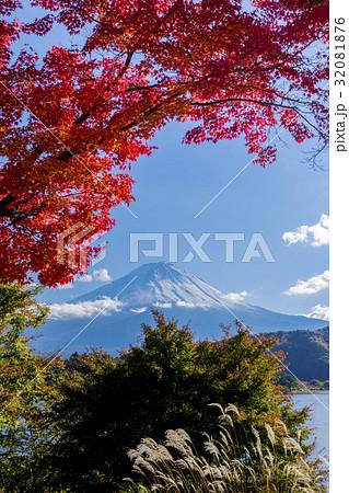 富士山 紅葉シーズン 32081876