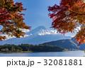富士山 紅葉 河口湖の写真 32081881