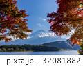 富士山 紅葉 河口湖の写真 32081882