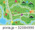 地図 ベクター デザインのイラスト 32084990