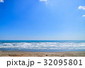 海 海岸 砂浜の写真 32095801