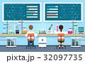 科学者 実験室 研究室のイラスト 32097735