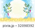 七夕 七夕飾り 七夕祭りのイラスト 32098392