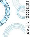 和柄 水紋 波紋のイラスト 32098858