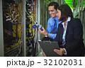 サーバー 技術 ケーブルの写真 32102031