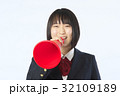 応援する女子高生 32109189