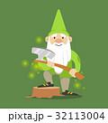 小人 帽子 ハットのイラスト 32113004