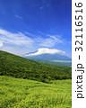 風景 富士山 初夏の写真 32116516