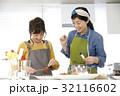料理 人物 クッキングの写真 32116602
