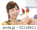料理 人物 女性の写真 32116611