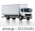 ベクトル トラック テンプレートのイラスト 32124161