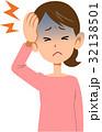 病気 女性 頭痛 上半身 32138501
