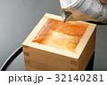 酒 日本酒 枡酒の写真 32140281