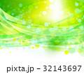 新緑の木漏れ日と風イメージ背景素材 32143697