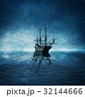 お化け オバケ 船の写真 32144666