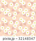 花 背景素材 マーガレットのイラスト 32148347