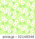 花 マーガレット シームレスのイラスト 32148348