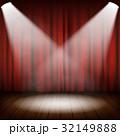 カーテン ステージ 舞台のイラスト 32149888