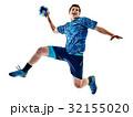 handball player teenager boy isolated 32155020