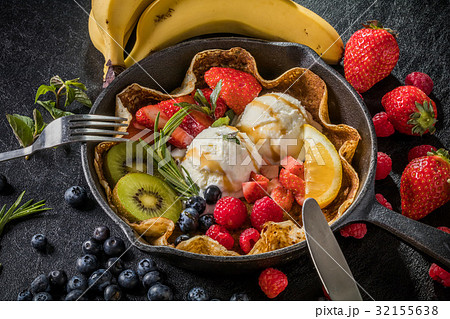 クレープ フランス料理 French pancake 32155638