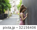 1人 屋外 女性の写真 32156406