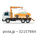 車 自動車 トラックのイラスト 32157664
