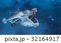 宇宙船 宇宙 天体のイラスト 32164917