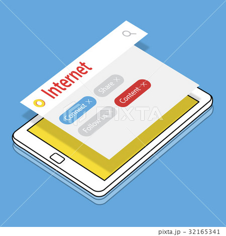 Digital Communication Social Media Graphic Words Iconsのイラスト素材 [32165341] - PIXTA