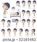 女性 人物 コールセンターのイラスト 32165462