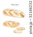 パン ブレッド フレンチのイラスト 32166232