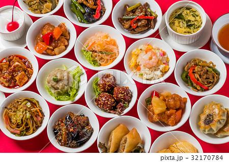 中華料理 集合 Delicious Chinese food group photo 32170784