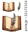 書籍 図案 ベクトルのイラスト 32172324