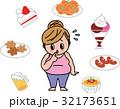食欲 女性の肥満 不健康 ダイエット 食べ過ぎ 32173651