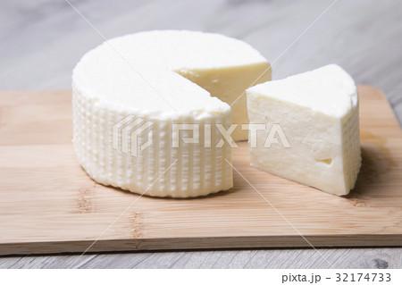 Tzfat cheese. Israeli traditional cheese.の写真素材 [32174733] - PIXTA