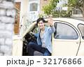 男性 ドライブ クラシックカーの写真 32176866