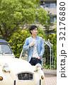 男性 ドライブ クラシックカーの写真 32176880